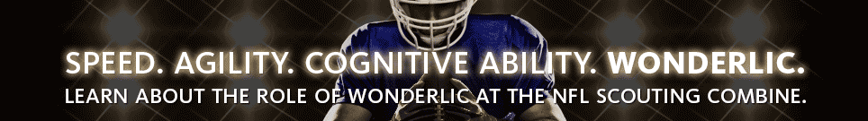Wonderlic Test and the NFL Scouting Combine