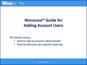 adding account users